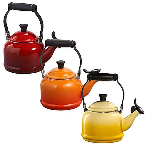 bed bath and beyond kettle le creuset 174 demi 1 25 quart tea kettles bed bath beyond