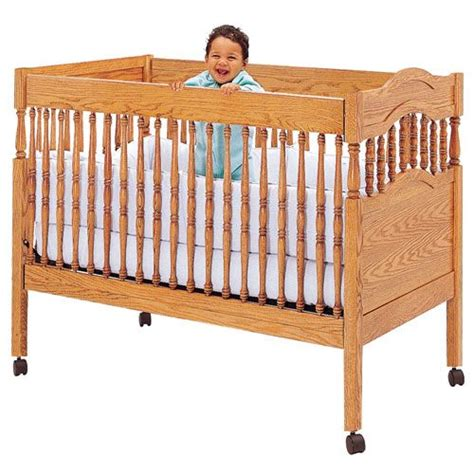 Hardware For Cribs by Crib Plan With Fixed Sides Crib Hardware Rockler