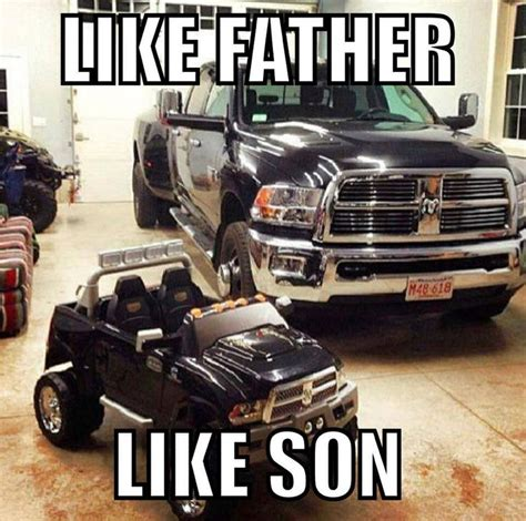Big Truck Meme - like father like son truck meme oh my my future
