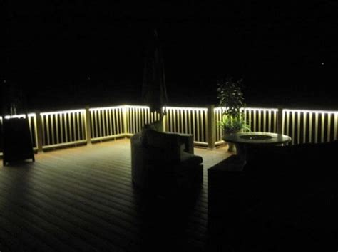 Banister Lights by Outdoor Lighting Projects Using Linear Lights Birddog