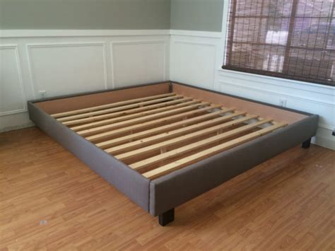 platform bed no headboard platform bed headboard step one queensize platform bed in
