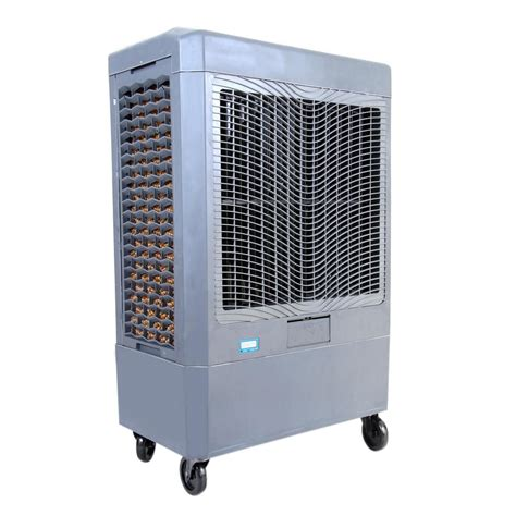 hessaire 5 300 cfm 3 speed portable evaporative cooler for