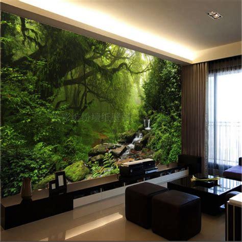 Living Room Wallpaper Buy Aliexpress Buy Custom Sunlight Green Eye