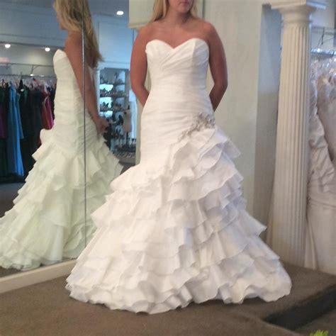 Wedding Dresses Size 10 by Maggie Sottero White Taffeta Feminine Wedding