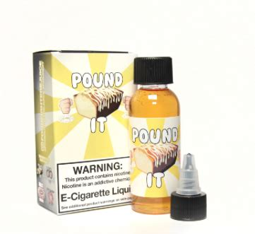 60ml Usa Eliquid 60ml eliquid pound it by food fighter free shipping