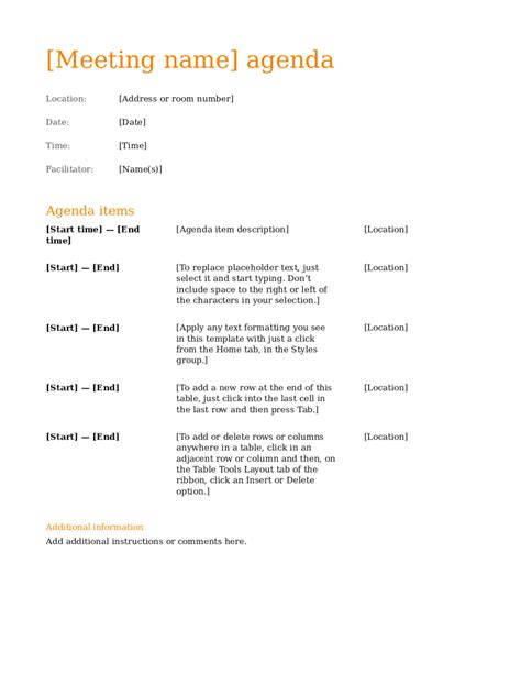 minutes of meeting format doc free download archives new 5 meeting