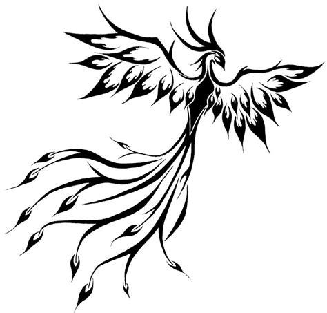 tribal phoenix tattoo jpg