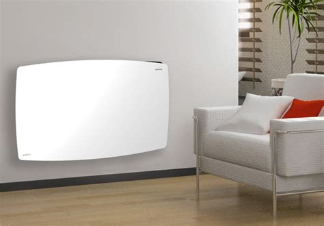 ducasa vitro  glass fronted designer electric panel heater