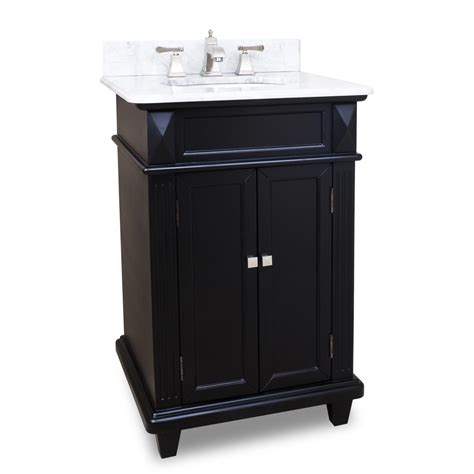 24 inch black bathroom vanity 24 quot jupiter single bath vanity black bathgems com
