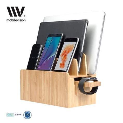 charging station organizer luxury multi device charging station with mobilevision bamboo charging station apple watch adapter