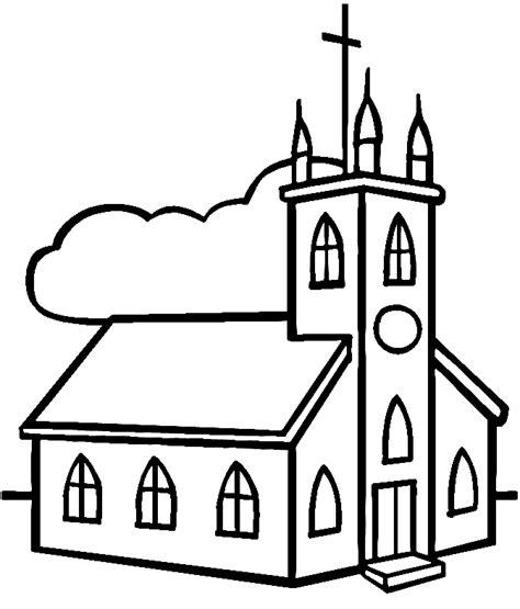 imagenes catolicas en blanco y negro dibujos infantiles de iglesias para colorear colorear