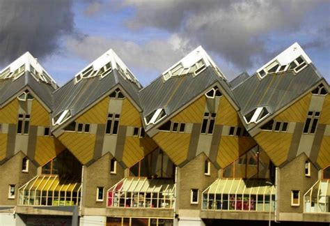 Interesting House Plans by The Curious Cubic Houses Of Rotterdam