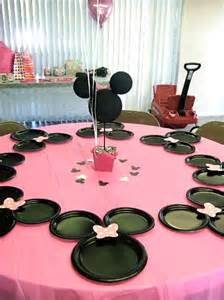decoration minnie anniversaire minnie mouse birthday ideas pink lover