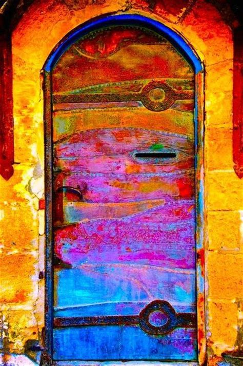 colorful doors colorful door open the door pinterest