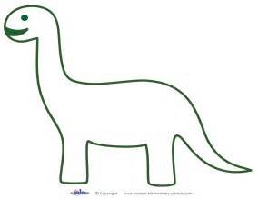Free Dinosaur Templates by The Gallery For Gt Dinosaur Stencil Printable