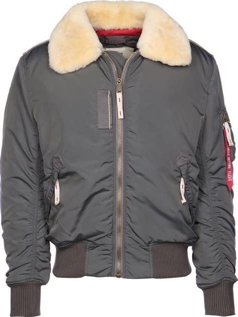 alpha industries injector iii jacket grey