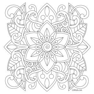 easy coloring pages to print for adults 100 free adult coloring pages lilt kids coloring books