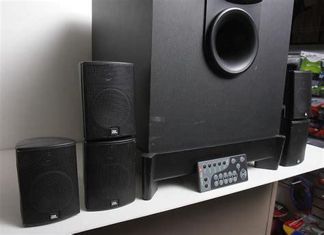 jbl esc  complete  home cinema system  speakers