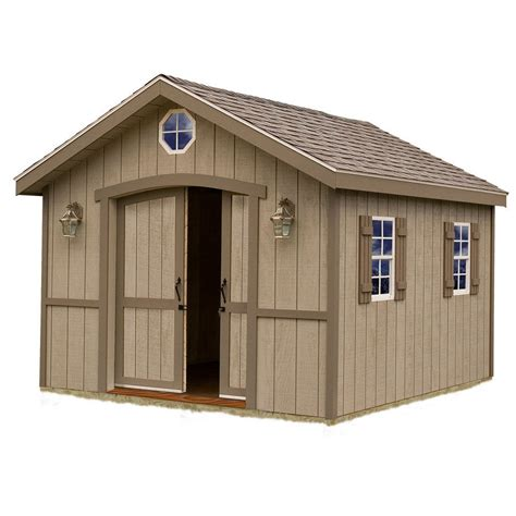 diy shed kit home depot shop best barns cambridge without floor gable engineered
