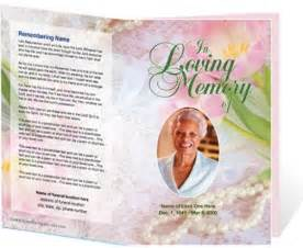 funeral booklet templates free funeral program template cyberuse