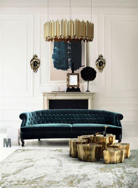 modern deco sofa interior design tips blue velvet chesterfield sofa