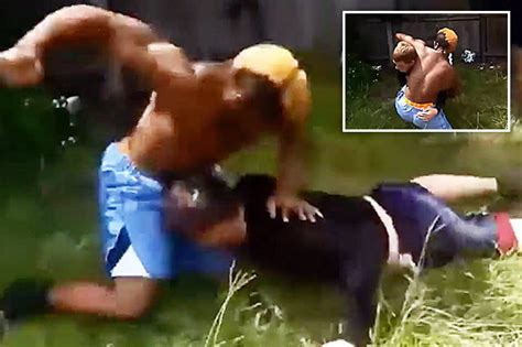 backyard brawler backyard mma fighters beat each other bloody but there