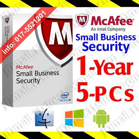 mcafee small business security 2017 end 11 1 2018 1 15 am