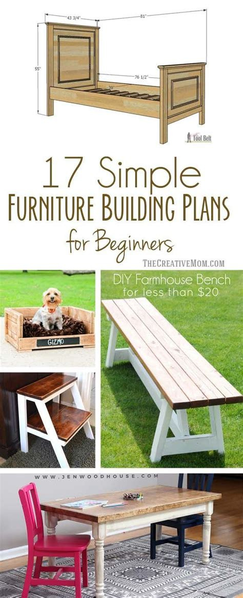 easy woodworking plans for beginners 17 simple furniture building plans for beginners diy