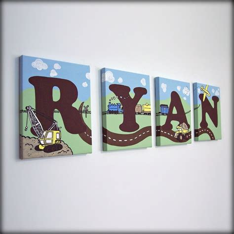 letter media the room construction letters boy s room decor letters for boys