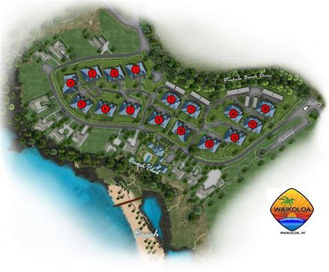 waikoloa resort condo map map of kolea at waikoloa