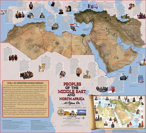 middle east map national geographic bowen cartography geography of the middle east and