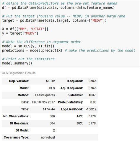 format email python python format data for statsmodels linear regression