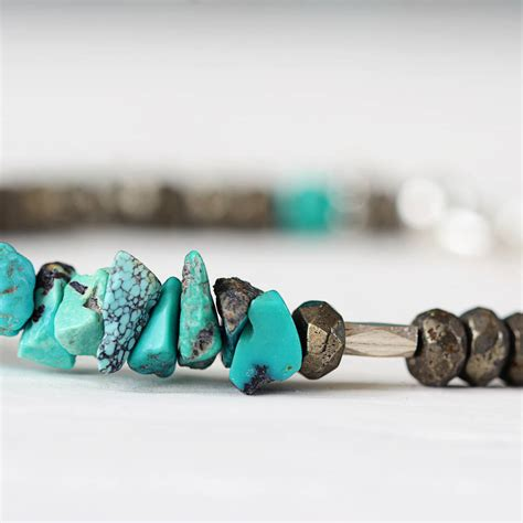 turquoise birthstone turquoise december birthstone bracelet by artique boutique