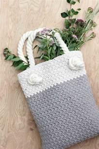 easy modern free crochet bag pattern for beginners