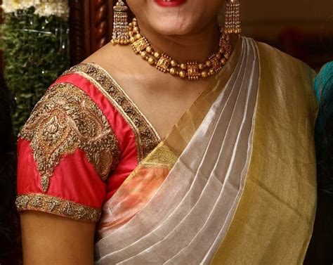 Blouse Designs In Kerala by 68 Best Kerala Saree Images On Indian Sarees