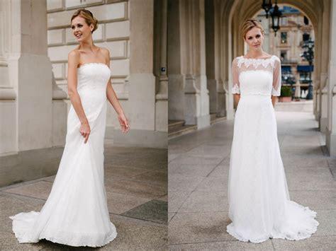Schlichte Brautkleider by Schlichte Brautkleider Zeitlose Kombinationswunder