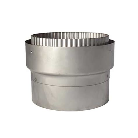 Chimney Liner Stove Adapter - chimney liner flue adapter the stove site