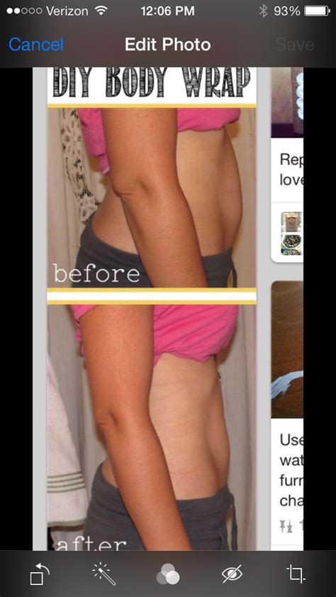 Overnight Detox Wraps by Help Flatten Your Stomach With A Diy Overnight Wrap