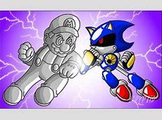 Metal Mario vs Metal Sonic by Kryptid on DeviantArt Mecha Mario Vs Metal Sonic