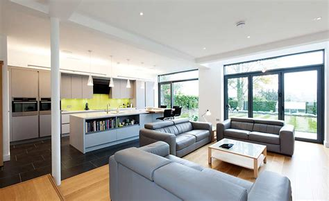 open plan kitchen living room ideas 15 of the best open plan kitchens homebuilding renovating