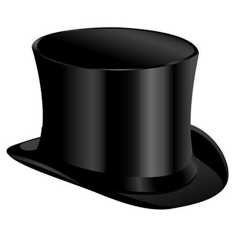 best clip top hat clipart clipart suggest