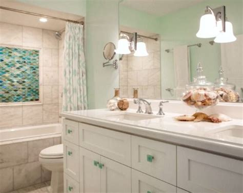 sea glass bathroom ideas 143 best images about coastal bathrooms on