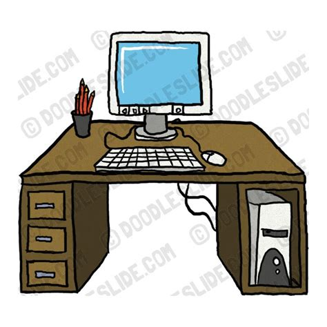 organized desks organized desk clipart clipart suggest