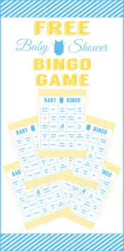 free baby shower bingo printable cards for a boy baby