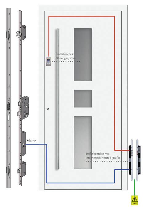 comfort security hauseingangst 252 r mit fingerscanner metallbau bochum