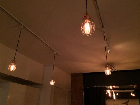 how to fix track lighting pin by snake vintage on handmade diy light fixtures