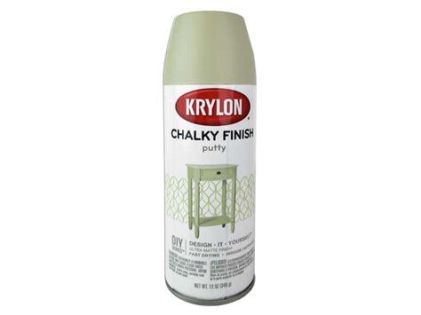 krylon chalky finish paint 12 oz putty ebay