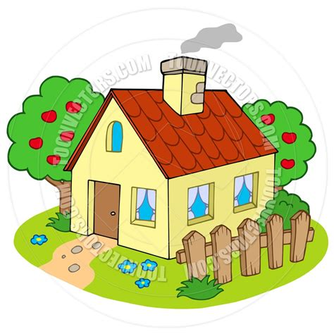 cartoon house toonvectors cartoon houses pinterest cartoon house