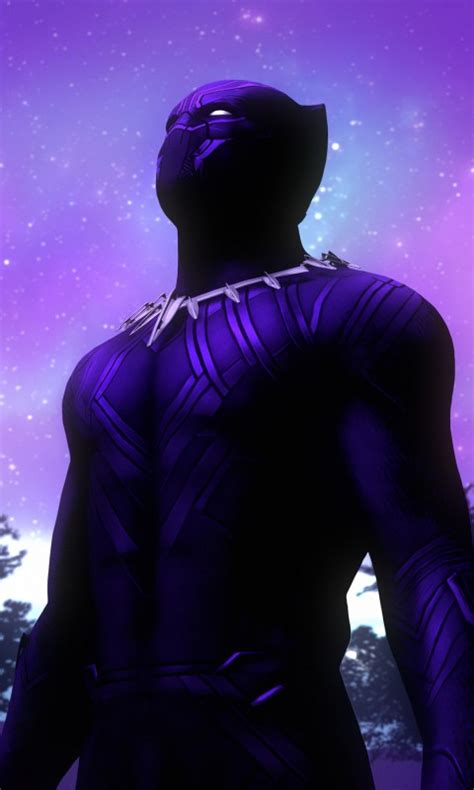 black panther purple suit  wallpapers hd wallpapers