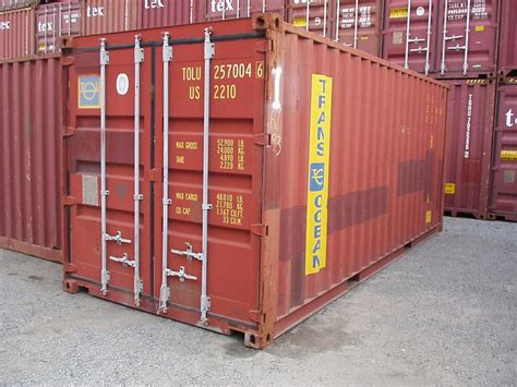 20 foot storage and shipping container chassisking com